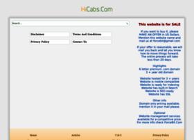 hicabs.com