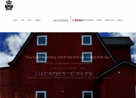 hickorycreekwinery.com