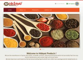 hidayatproducts.com