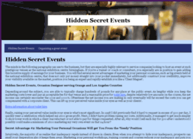 hiddensecretevents.com
