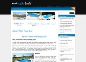 hiddenwaterpoolscost.org