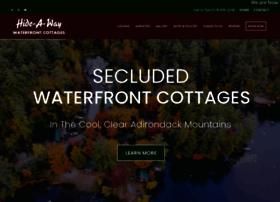 hideawaywaterfrontcottages.com