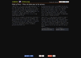hideipproxy.com
