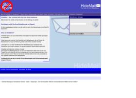 hidemail.de