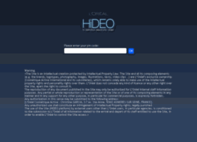 hideo.loreal.com