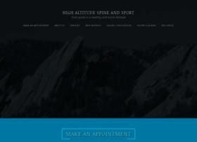 highaltitudesportsrehab.com