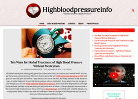 highbloodpressureinfo.org