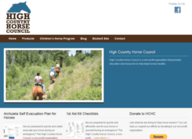 highcountryhorsecouncil.com