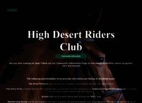 highdesertriders.com