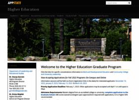 highered.appstate.edu