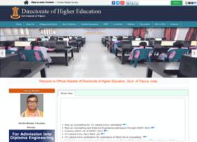 highereducation.tripura.gov.in