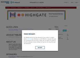 highgatecc.play-cricket.com