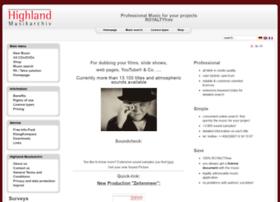 highland-musikarchiv.com