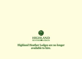 highlandheatherlodges.co.uk