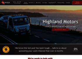 highlandmotors.co.uk