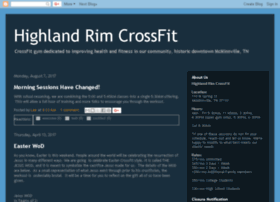 Highlandrimcrossfit.com