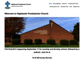 highlands-presbyterian.org