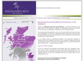 highlandsbestbandb.co.uk