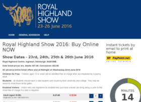 highlandshow.ticketsrv.co.uk