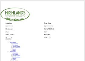 highlandsresortrealty.com