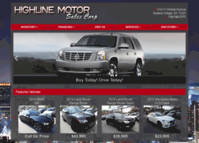 highlinemotorsales.com