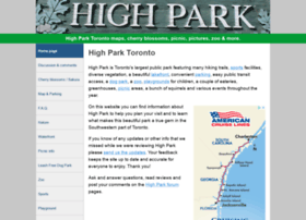 highparktoronto.com