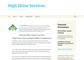 highshineservices.com