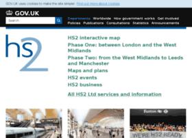highspeedrail.dft.gov.uk