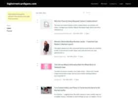 highstreetcardigans.com