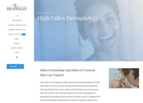 highvalleydermatology.com