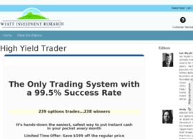 highyieldtrader.wyattresearch.com