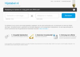 hijstabel.nl