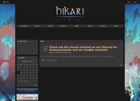 hikarifc.shivtr.com