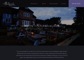 hillbrookehotels.co.uk
