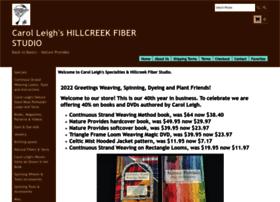 hillcreekfiberstudio.com