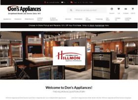 hillmonappliance.com
