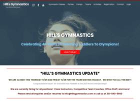 hillsgymnastics.com