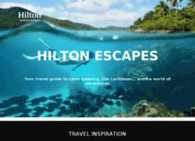 hiltonescapes.com