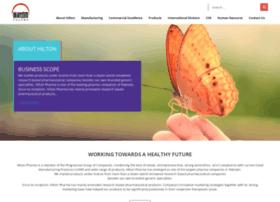 hiltonpharma.com
