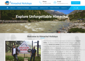 himachalholidays.com