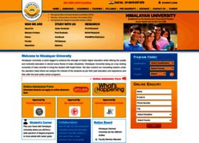 himalayanuniversity.com