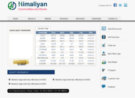 himaliyancommodities.com