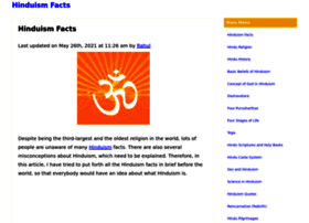 hinduismfacts.org