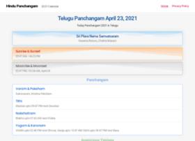 hindupanchangam.org