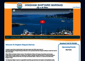 hinghamshipyardmarinas.com