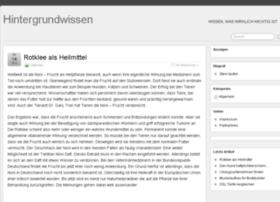 hintergrund-wissen.de