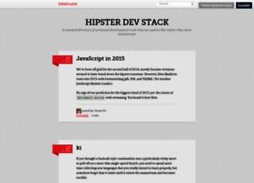 hipsterdevstack.tumblr.com