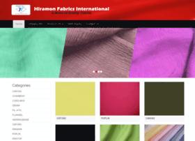 hiramonfabrics.com