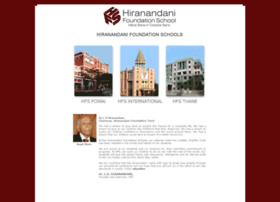 hiranandanischools.edu.in