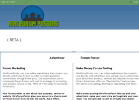 hireforumposters.com